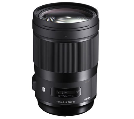 Sigma for Canon EF 40mm f/1.4 DG HSM Art