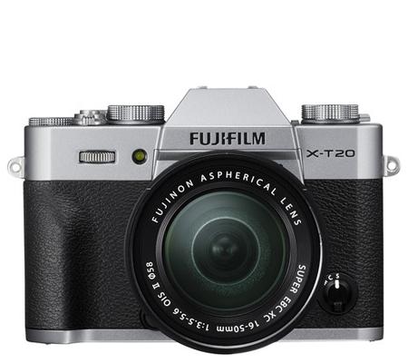 Fujifilm XT20 kit XC 16-50mm f/3.5-5.6 OIS II Silver