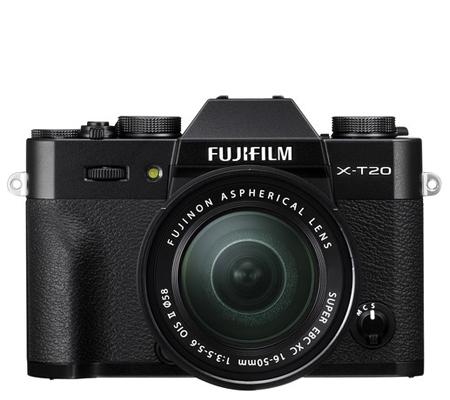 Fujifilm XT20 kit XC16-50mm f/3.5-5.6 OIS II Black