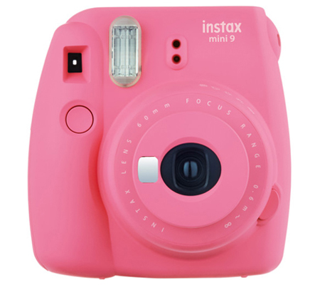 Fujifilm Instax Mini 9 Camera Flamingo Pink