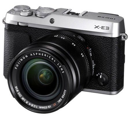 Fujifilm XE3 kit XF 18-55mm f/2.8-4 R LM OIS Silver