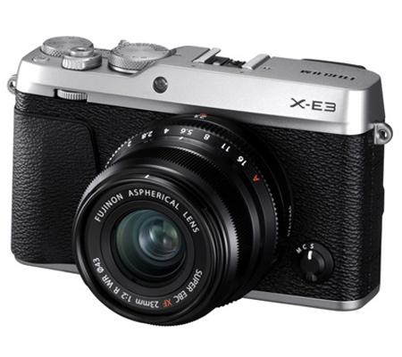 Fujifilm XE3 Body Silver + XF23mm f/2 R WR Black