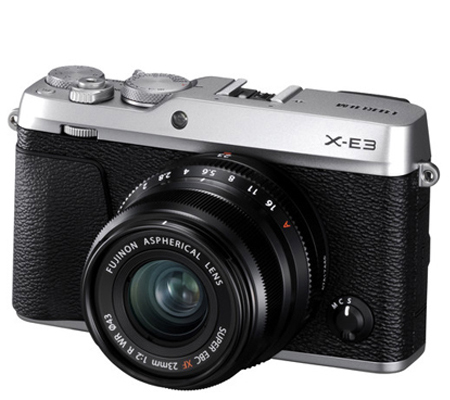 Fujifilm XE3 Body Silver + XF23mm f/2 R WR Black