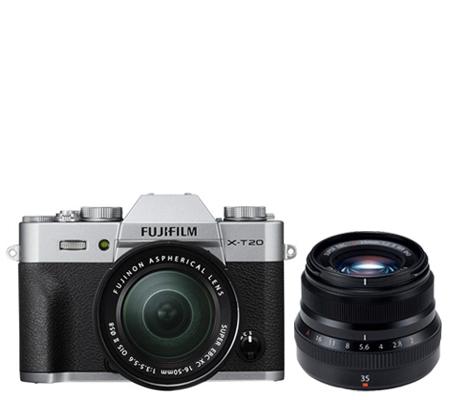 Fujifilm XT20 kit 16-50mm f/3.5-5.6 OIS II Silver