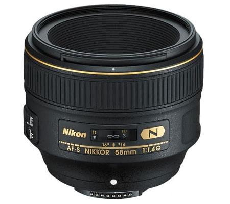 Nikon AF-S 58mm f/1.4G N