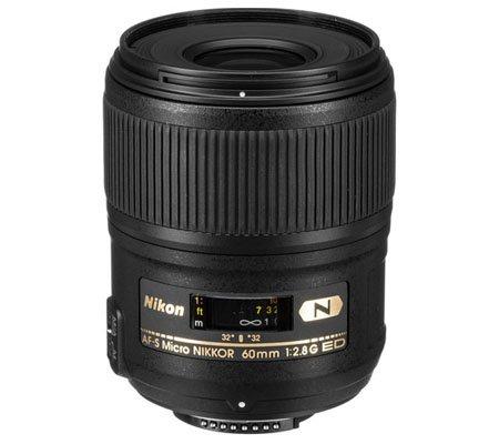 Nikon AF-S 60mm f/2.8G Micro N ED