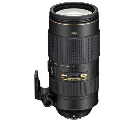 Nikon AF-S 80-400mm f/4.5-5.6G VR ED N