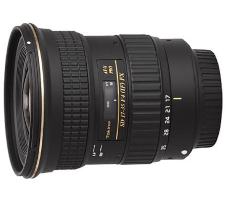 Tokina for Nikon AT-X 17-35mm f/4 Pro FX.