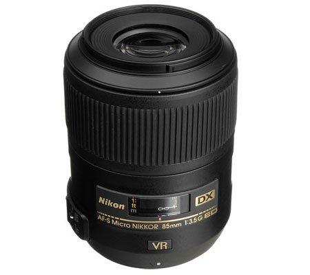 Nikon AF-S 85mm f/3.5G DX VR Micro ED