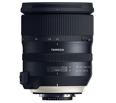 Tamron for Nikon SP 24-70mm f/2.8 Di VC USD G2