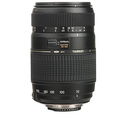 Tamron for Nikon AF 70-300mm f/4-5.6 Di LD Macro Telephoto Zoom Lens (Built in Motor)