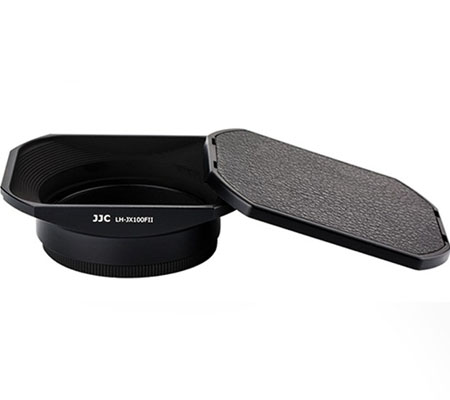 3rd Brand Lens Hood and Ring Filter Adapter for Fujifilm Black