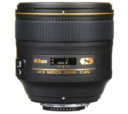 Nikon AF-S 85mm f/1.4G N
