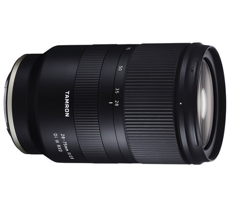 Tamron for Sony E 28-75mm f/2.8 Di III RXD Lens