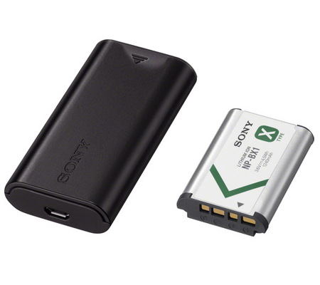 Sony Travel DC Charger + Sony Battery NP-BX1 (ACC-TRDCX)
