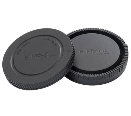 3rd Brand Body Cap and Rear Cap for Sony E Mount Camera