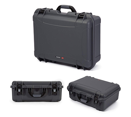 Nanuk 940 Waterproof Hard Case with Foam Insert Graphite