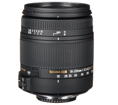 Sigma for Nikon 18-250mm f/3.5-6.3 DC Macro OS HSM.