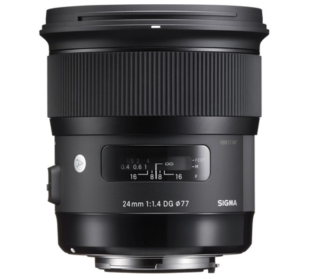 Sigma for Nikon 24mm f/1.4 DG HSM Art (A)