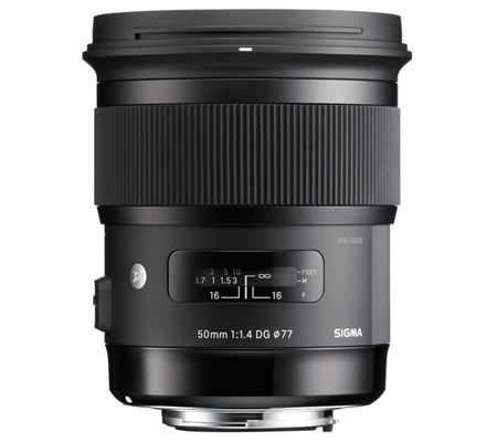 Sigma for Canon 50mm f/1.4 DG HSM Art (A)
