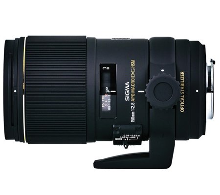 Sigma for Canon 150mm f/2.8 EX DG OS HSM APO Macro