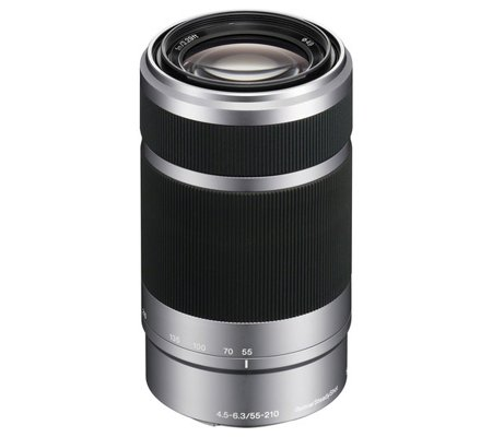 Sony E 55-210mm f/4.5-6.3 OSS Silver