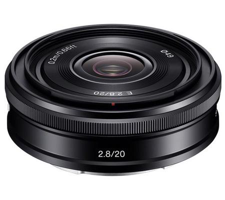 Sony E 20mm f/2.8 Wide-Angle