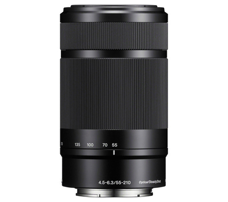 Sony E 55-210mm f/4.5-6.3 OSS Black