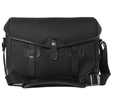 Barber Shop BBS-PB-3 Small Messenger Pageboy Camera Bag Black Cordura & Leather)