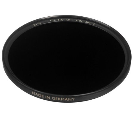 B+W F-Pro ND 1.8 64x 6stop 49mm