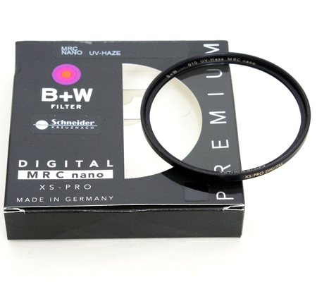 B+W XS-Pro SLIM UV Haze MRC Nano Coating 62mm