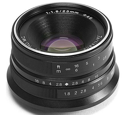 7Artisans 25mm f/1.8 for Fujifilm X Mount Black