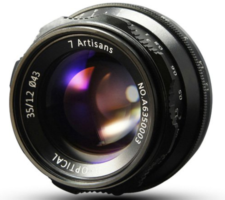 7Artisan 35mm f/1.2 for Sony E Mount