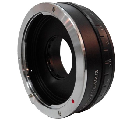 Optic Pro Adapter Canon EOS Lens to Micro 4/3 Camera