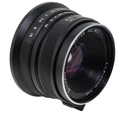 7artisans for Canon EF-M 25mm f/1.8 Lens