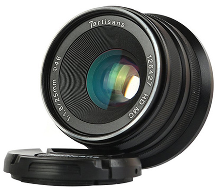 7artisans for Canon EF-M 25mm f/1.8 Lens