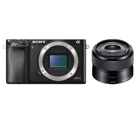 Sony Alpha A6000 + E 35mm f/1.8 OSS