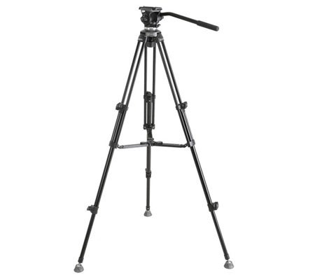 E-Image Professional Compact Tripod With Fluid Head EK-610