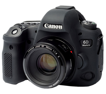 Easy Cover for Canon EOS 6D Mark II Black