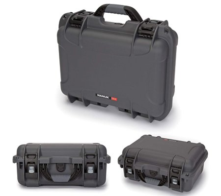 Nanuk 915 Waterproof Hard Case With Foam Insert Graphite