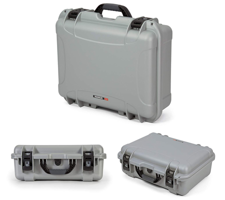 Nanuk 940 Waterproof Hard Case with Foam Insert Silver