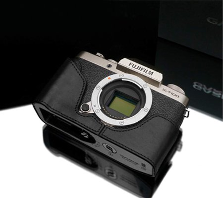 Gariz XS-CHXT100BK Half Case for Fuji X-T100 Black