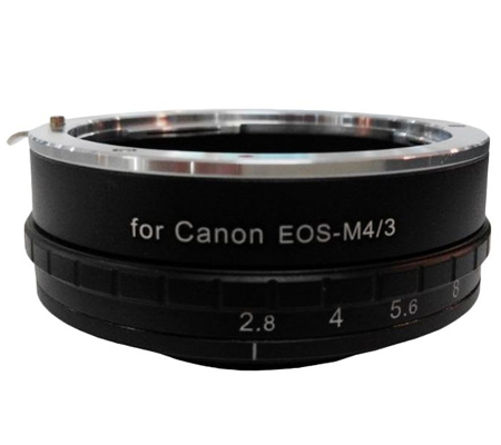 Optic Pro Adapter Canon EOS Lens to Micro 4/3 Camera