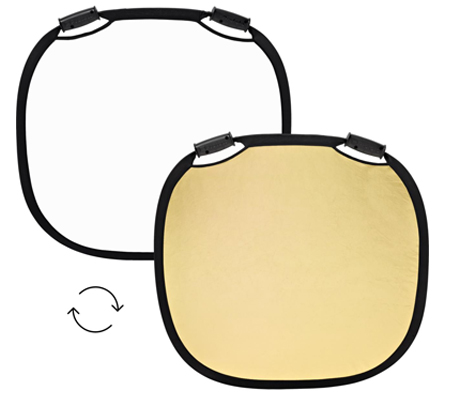 Profoto Collapsible Reflector Gold/White Medium.