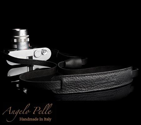 Angelo Pelle Neck Strap Deluxe Edition Black