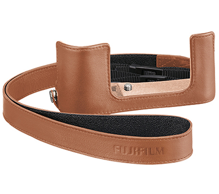 Fujifilm Half Case For Fujifilm XA5 Brown