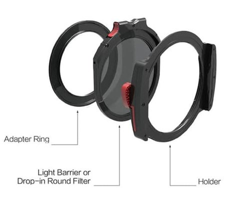 Haida M10 Filter Holder Kit with 77mm Adapter Ring (HD4306)