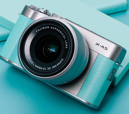 Fujifilm XA5 kit XC 15-45mm f/3.5-5.6 OIS PZ Mint Green