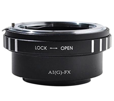 Optic Pro Adapter Nikon G Lens to Fuji X-Mount Camera