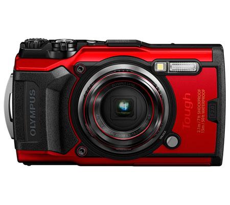 Olympus Tough TG-6 Digital Camera Red